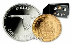 Canada 2017 ALL Silver Proof Set Featuring 1967 Commem Coins. P49