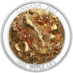 Canada 2017 Bighorn Sheep Majestic Animals Sculpture $100 10 Oz Silver Full OGP