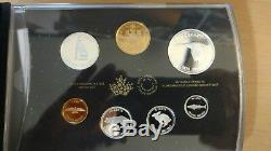 Canada 2017 Commemorative Pure Silver 7-Coin Proof Set 1967 Centennial Coins