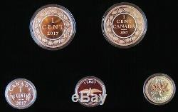 Canada 2017 Legacy of the Penny Fine Silver Proof Coin Set
