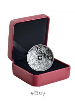 Canada 2019 Sparkle of the Heart Proof $20 Silver Coin with Fire & Ice DIAMOND