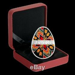 Canada Mint 2016 2020 Pysanka Silver Proof Coin Complete Collection to Date