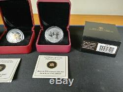 Canada Proof Coins Collection Sterling & Fine Silver Royal Canadian Mint Job Lot
