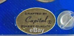 Canada Proof Like Set 1955 6 Coins Capital Coin Holder Silver Unc Royal Mint