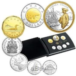 Captain Cook at Nootka Sound 2018 Canada Fine Silver Proof Set
