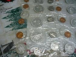 Lot Of 10 1963 Canada Silver Proof Like Sets Coins High Grades Sealed