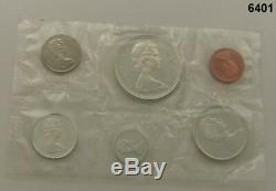 Lot Of 8 1967 Canada Centennial Silver Proof-like Gem Sets 48 Coins Sealed #6401