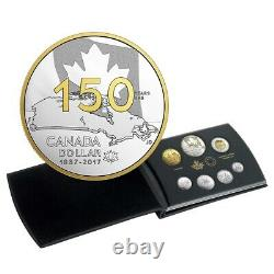Our Home and Native Land 2017 Canada 150 Fine Silver Proof Set