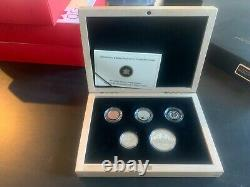RCM 2010 Limited Edition Proof Set 75th Anniversary of the First Silver Dollar