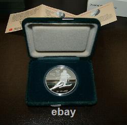 Set of 10 1 ounce Silver Proof Canada Coins1988 Calgary Olympics $20